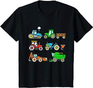 Bambino TShirt Trattore Bambino Macchine Agricole Trattori Ragazzo Maglietta