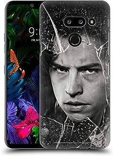 Official Riverdale Jughead Jones Broken Glass Portraits Hard Back Case Compatible for LG G8 ThinQ