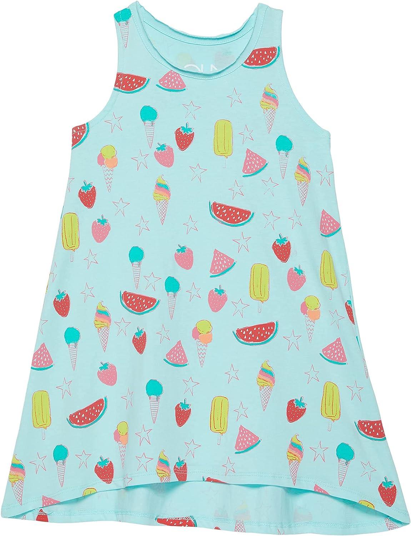 CHASER girls Cotton Jersey Tank Dress (Toddler/Little Kids)