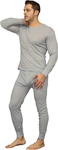 Fleece Lined Waffle Mens Soft 100/% Cotton Thermal Underwear Long Johns Sets X-Large, Fleece Lined - Navy
