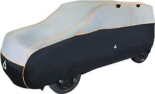 Autoplane ATMI L SUV atmungsaktiv kompatibel mit Hyundai Tucson III autoschutz Abdeckung