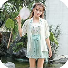 Lady Spring Casual Hanfu Fashion Traditional Chinese Costumes Ancient Retro Dance Dress