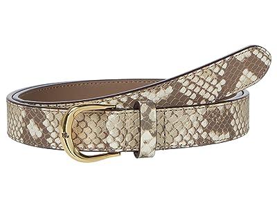 LAUREN Ralph Lauren Tricolor Python Kenton 25 Dress Casual Skinny