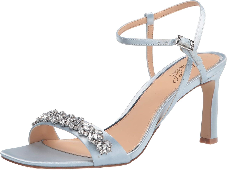 Jewel Badgley Mischka Now on sale Max 54% OFF Women's Sandal Heeled Ornamented