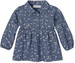 فستان كاجوال للفتيات بأكمام طويلة مطبوع عليه زهور من ذا كيدز بليس
