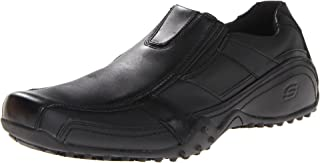Skechers for Work Men's Rockland-Hooper Slip Resistant Slip-On Shoe