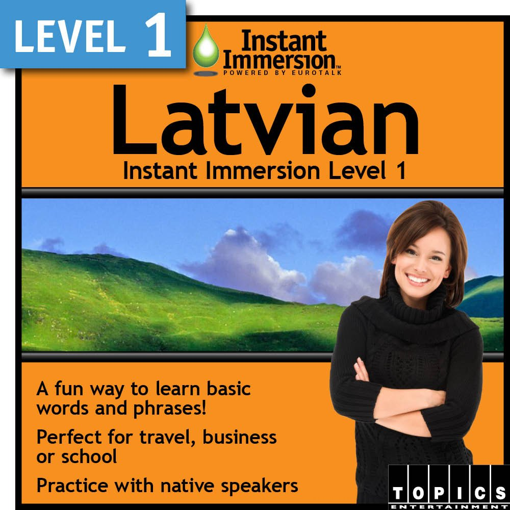 lowest price Instant 67% OFF of fixed price Immersion Level 1 - Latvian Download