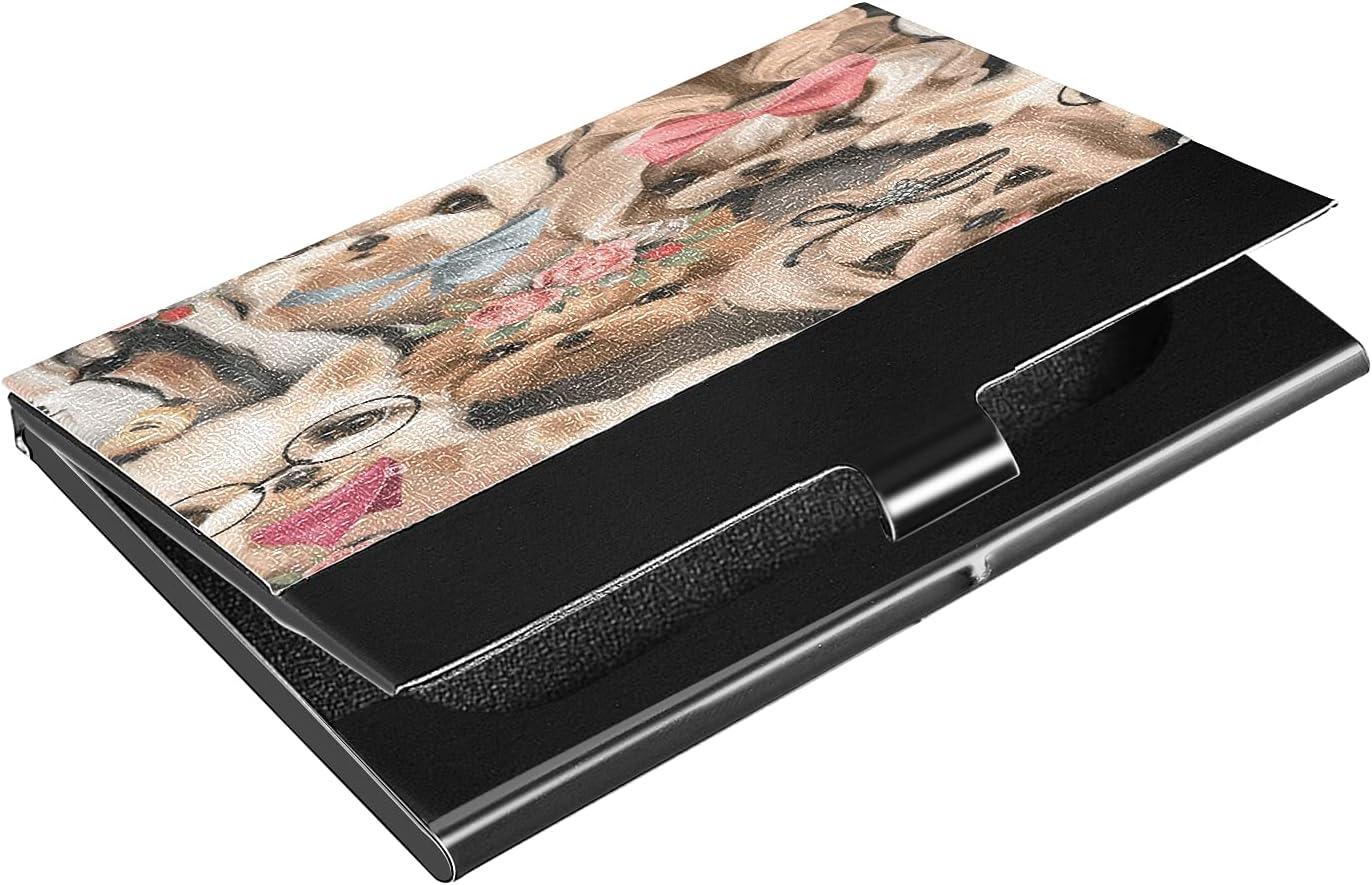 Ranking TOP7 OcuteO Our shop most popular Pretty Shih Tzu Watercolor Cute Business Card H Slim Dogs