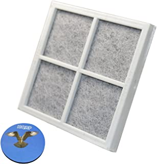 HQRP Air Filter for Kenmore Elite Refrigerators 04609918000/469918 / 9918 Elite CleanFlow Replacement + HQRP Coaster