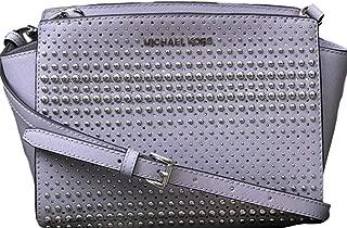 Selma Medium Messenger Leather Crossbody Bag