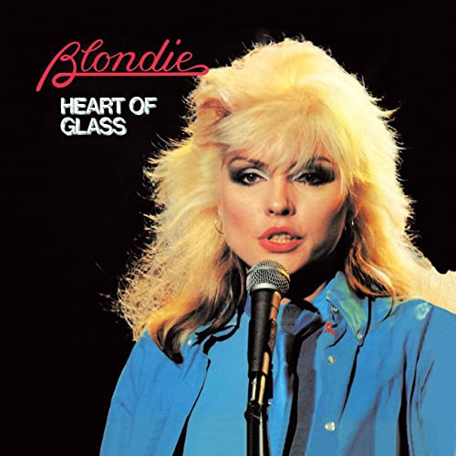 Image result for heart of glass blondie single images