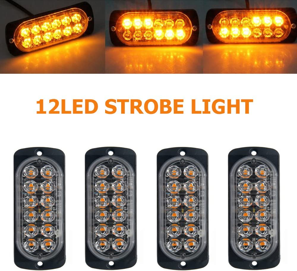 Emergency Strobe Lights for Trucks Maso Car Product L Amber Recovery 12 Ranking TOP15