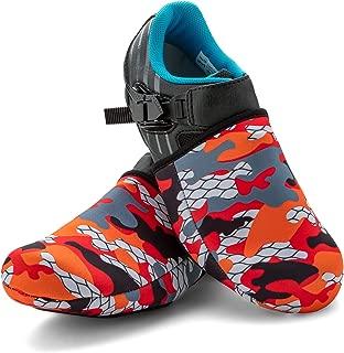 SLS3 Cycling Shoe Cover - Toe Covers - Bike Shoe Covers Neoprene Cold Weather – Biking Foot Covers Cycle Road Bike - Windproof Waterproof - No More Cold Feet