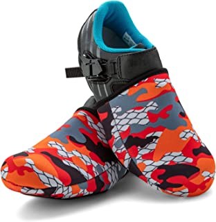 SLS3 Cycling Shoe Cover - Toe Covers - Bike Shoe Covers Neoprene Cold Weather – Biking Foot Covers Cycle Road Bike - Windproof Waterproof - No More Cold Feet