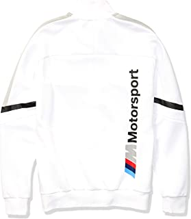Motorsport Men's BMW T7 Track Jacket , Large, PUMA White
