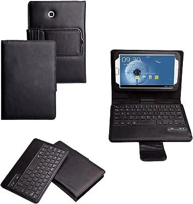 Invero  Leder Bluetooth-Tastatur H lle Etui mit Standfunktion f r Samsung Galaxy Tab 7 0 Inch GT-P3200 GT-P3210