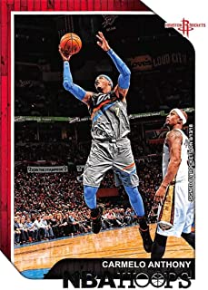 2018-19 NBA Hoops Basketball #20 Carmelo Anthony Houston Rockets Official Trading Card made by Panini