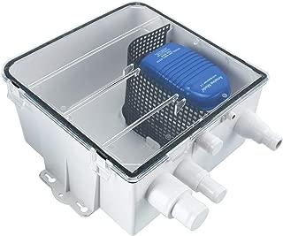 Amarine Made Boat Marine Shower Sump Pump Drain Kit System Shower Pump System - 12v - 750 GPH - Multi-port Inlet