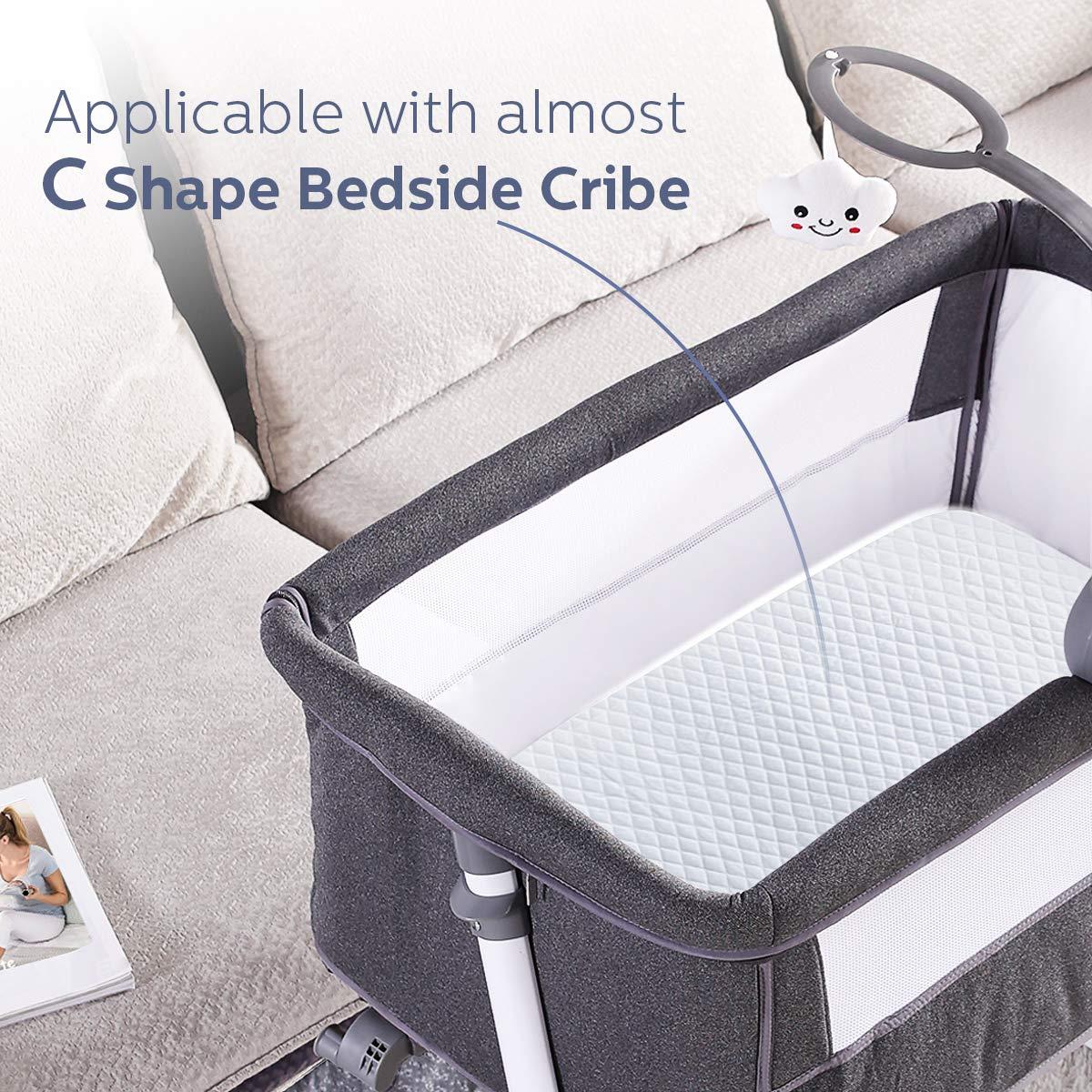 Babymatratze Kindermatratze Kinderbett und Babybett ADOVEL Matratzen f/ür Babybetten