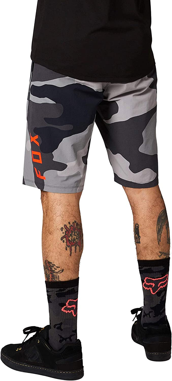 Fox Racing Mens Cycling Shorts BLACK CAMO, 44