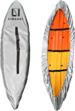 LIBZAKI Kayak Cover Accessories, 300D Oxford Fabric Waterproof & UV Protection SUP Paddle Boards Cover for Indoor/Outdoor ...