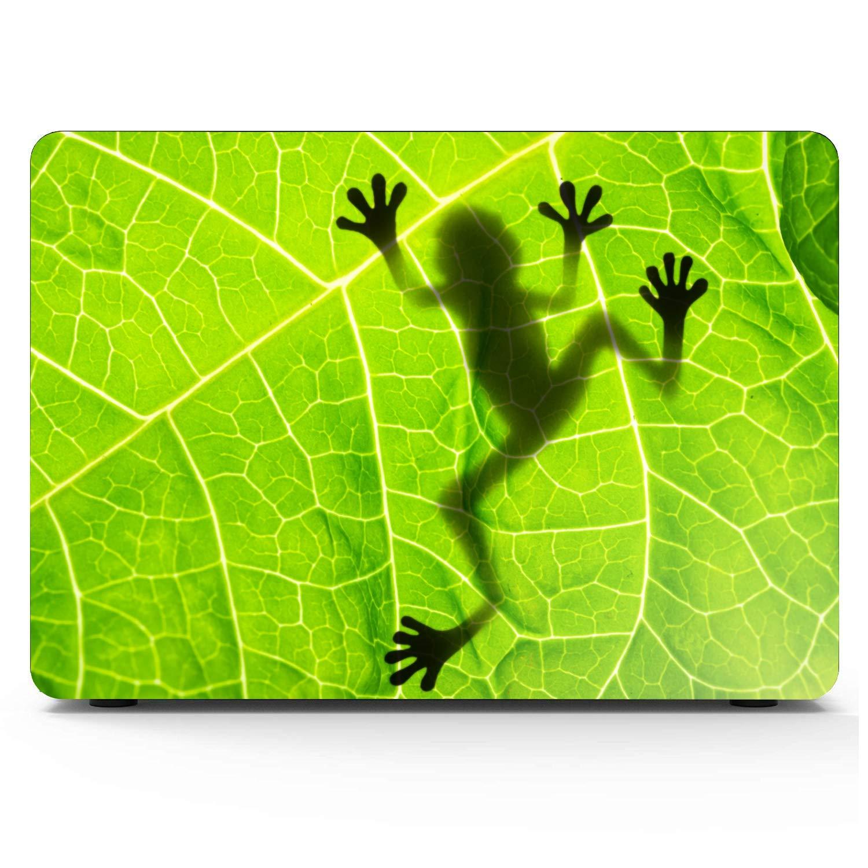 Animal Frog Shadow On The Leaf Macbook Air/Pro 11/12/13/15 Inch Estuche Estuche rígido de plástico Shell Nuevo Macbook Air Estuche Mac Estuches Fundas para Macbook Air: Amazon.es: Electrónica