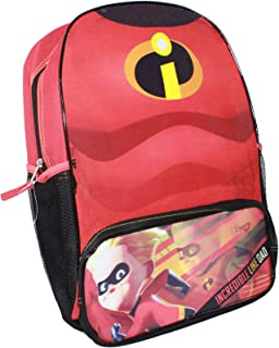 Incredibles Chest 16 inch Backpack with 1 Lower Pocket & 2 side mesh pockets