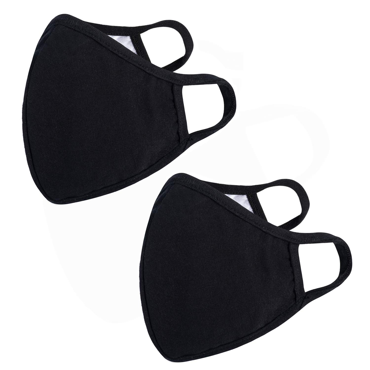Cotton Cute Mouth Face Mouth Cover- Reusable Cotton Comfy Breathable Outdoor Fashion Face Protections Man and Woman