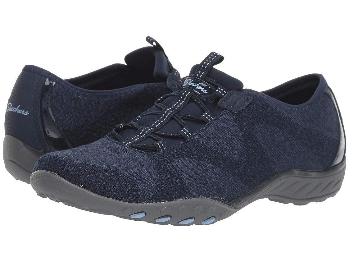 チョーク具体的に悪用レディーススニーカー?ウォーキングシューズ?靴 Breathe-Easy - Opportuknity Navy 5 (22cm) B [並行輸入品]