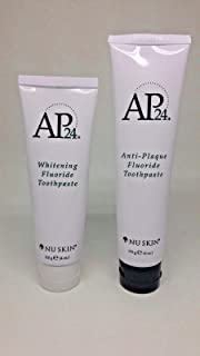 Nuskin Authentic AP24 Whitening & Anti-Plaque Fluoride Toothpaste Pack of 2
