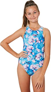 Speedo Girls Girls Turbo Suit One Piece - Teen Lace Polyester