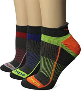 Saucony Inferno No Show Tab 3 Pack Running Socks