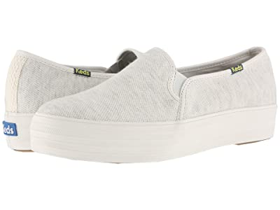 Keds Triple Decker Pique (Cream) Women