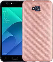 Case for Asus ZenFone Live Plus X00LDA X00LDB / ZenFone 4 Selfie ZB553KL Case TPU Silicone Soft Shell Cover Pink RK-Asus ZenFone Live Plus-Pink