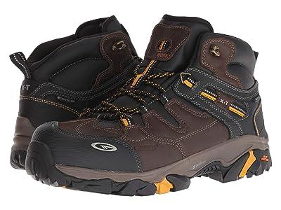 Hi-Tec X-T Forge Elite Mid WP360 Composite Toe (Chocolate/Core Gold) Men