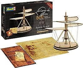 Revell 00515/515 Leonardo da Vinci Aerial Screw Model Kit, Wood