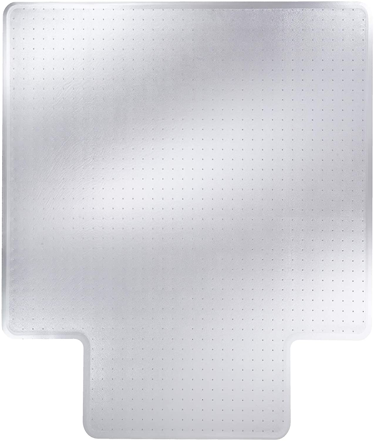 Glide 売り込み Right Vinyl Chair Mat with Lip 45