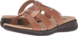Luggage/Cement Soft Sandal Leather