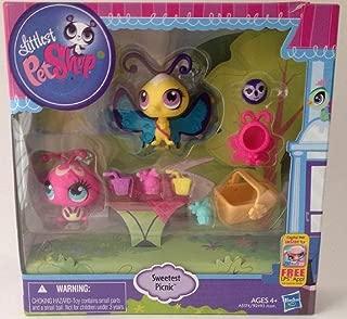Littlest Pet Shop Sweetest Picnic Ladybug #3287& Butterfly #3286 with Koala 3288
