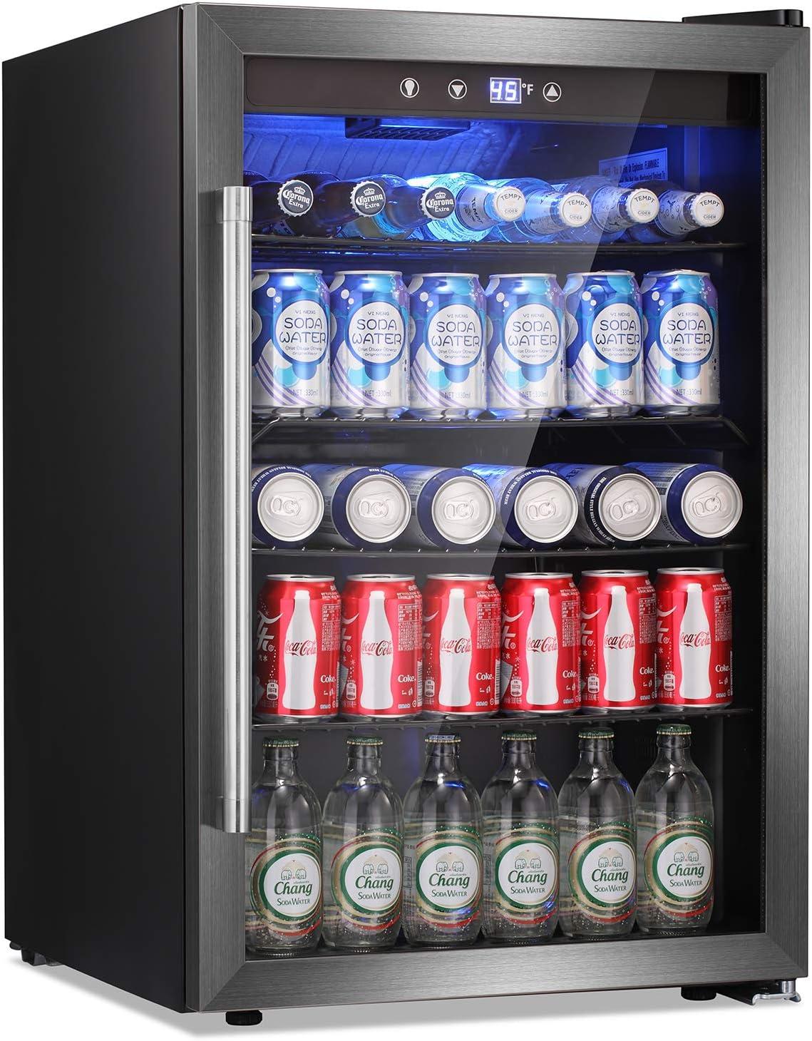 Antarctic Star Beverage Refrigerator Cooler 2021 new 145 Can Fridg - shopping Mini