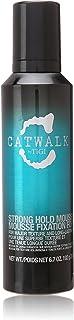 TIGI Catwalk Strong Hold Mousse for Unisex, 6.7 Ounce
