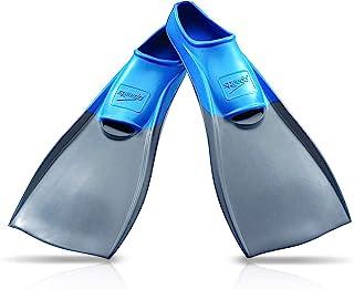 Speedo Unisex-Adult Swim Training Fins Rubber Long Blade