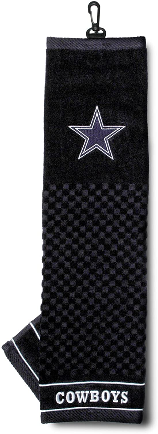 New OFFicial shop arrival TEAM GOLF NFL Mens Embroidered Golf Towel