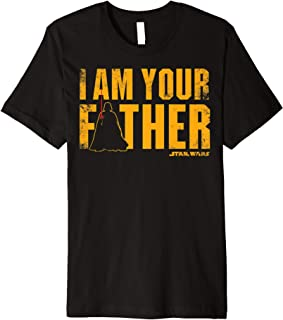 Star Wars Vader I Am Your Father Silhouette Premium T-Shirt