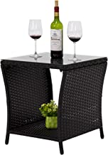 Best outdoor rattan side table Reviews