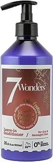 7 Wonders Nourishing Leave In Conditioner with Pure Organic Oils of Almond, Marula, Argan, Olive, Macadamia, Coconut & Jojoba 16.9 fl. Oz.