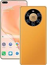 Free Unlocked Mobile Phone SIM, Mate40 Pro+ Android 10 Dual SIM Card Smartphone, Triple Card Slot 4GB RAM 64GB/128GB ROM, ...