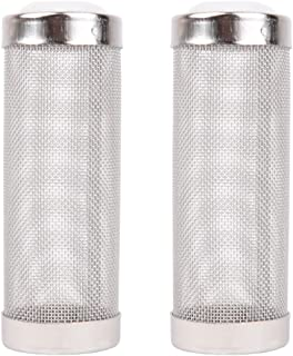 Powkoo Intake Strainer Filter, Aquarium Fish Tank Pre-Filter Intake Filter Cover Filter Guard