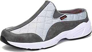 Voovix Men's Women's Mules Casual Slip-On Shoes