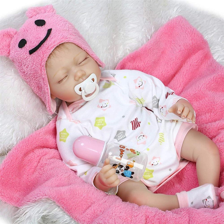 RENYAYA 55CM Lifelike Large Size Soft Bodied Baby Doll Realistic Handmade Babies for Girls Boys Toy